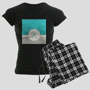 Cute Monogram Letter L Pajamas