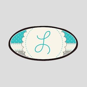 Cute Monogram Letter L Patch