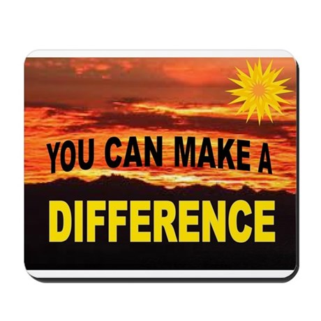 DIFFERENCE Mousepad