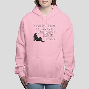 Strange Cats Women's Hooded Sweatshirt