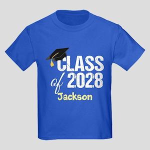 Class Of 2028 Kids Dark T-Shirt