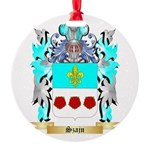 Szajn Round Ornament