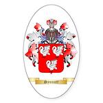 Synnott Sticker (Oval 50 pk)