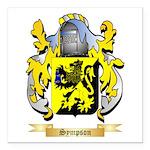 Sympson Square Car Magnet 3