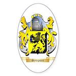 Sympson Sticker (Oval 50 pk)