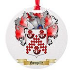 Sympille Round Ornament