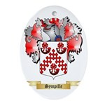 Sympille Oval Ornament