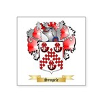 Sympele Square Sticker 3