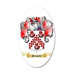 Sympele 20x12 Oval Wall Decal