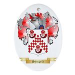 Sympele Oval Ornament