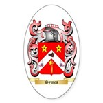 Symes Sticker (Oval 50 pk)