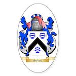 Sykes Sticker (Oval 50 pk)