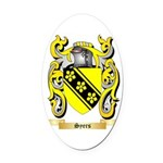 Syers Oval Car Magnet