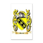 Syers Rectangle Car Magnet