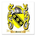 Syers Square Car Magnet 3