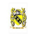 Syers Sticker (Rectangle 10 pk)