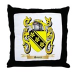 Syers Throw Pillow
