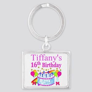 PERSONALIZED 16TH Landscape Keychain