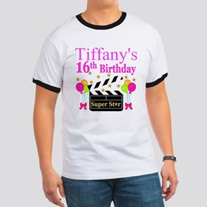 PERSONALIZED 16TH Ringer T