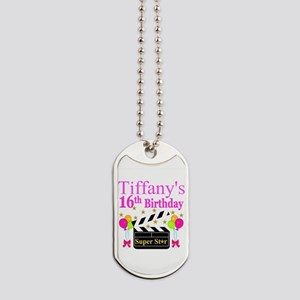 PERSONALIZED 16TH Dog Tags