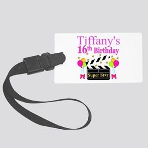 PERSONALIZED 16TH Large Luggage Tag