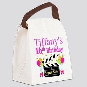 PERSONALIZED 16TH Canvas Lunch Bag