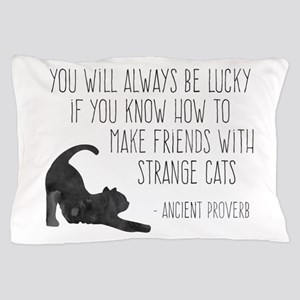 Strange Cats Pillow Case