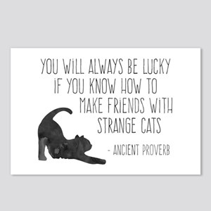 Strange Cats Postcards (Package of 8)