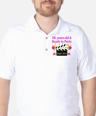 PERSONALIZED 16TH Golf Shirt