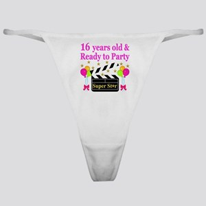 PERSONALIZED 16TH Classic Thong