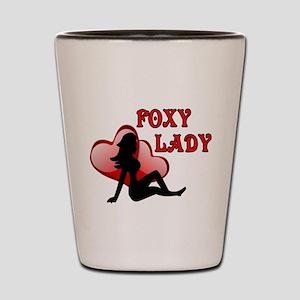 FOXY LADY 2.2 Shot Glass
