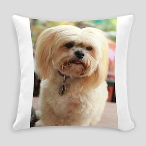 Koko blond lhasa Everyday Pillow