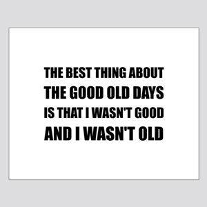 Good Old Days Joke Posters