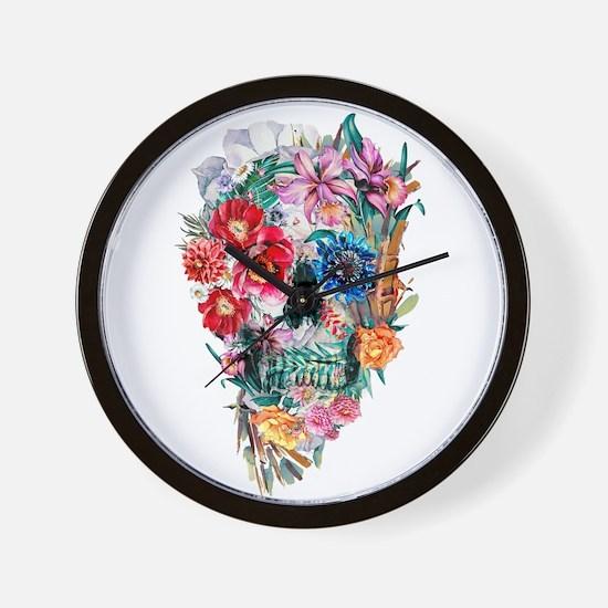 Skull Momento Mori VI Wall Clock