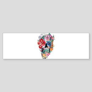 Skull Momento Mori VI Bumper Sticker