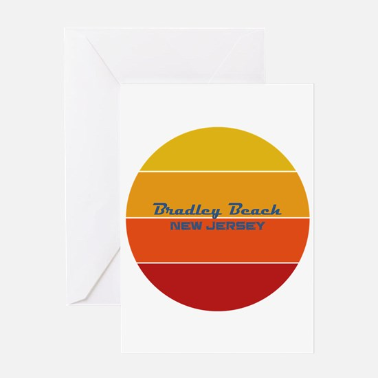 New Jersey - Bradley Beach Greeting Cards