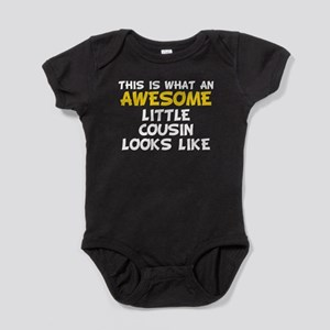Awesome Little Cousin Baby Bodysuit