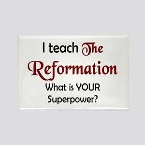 teach reformation Rectangle Magnet