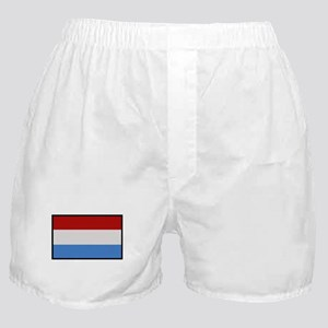 """""""Luxembourg Flag"""" Boxer Shorts"""