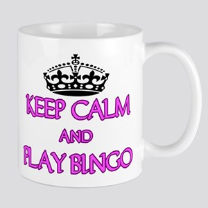 KEEP CALM AND PLAY BINGO Mugs