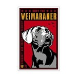 Obey the Weimaraner! Dictator Mini Poster