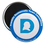 Franklin Democratic Town Committee Logo Magnets