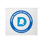 Franklin Democratic Town Committee Logo Throw Blan