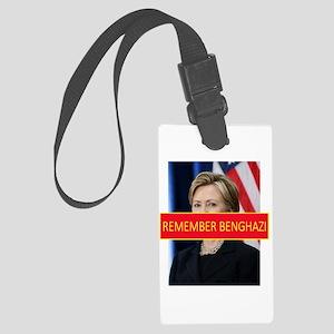 Remember Benghazi Large Luggage Tag