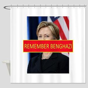 Remember Benghazi Shower Curtain