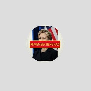 Remember Benghazi Mini Button