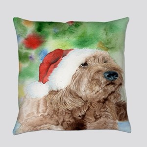 Banjo the Labradoodle Everyday Pillow