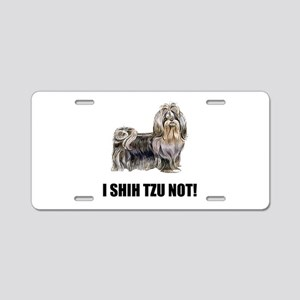 Shih Tzu Not Aluminum License Plate