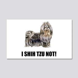 Shih Tzu Not Wall Decal