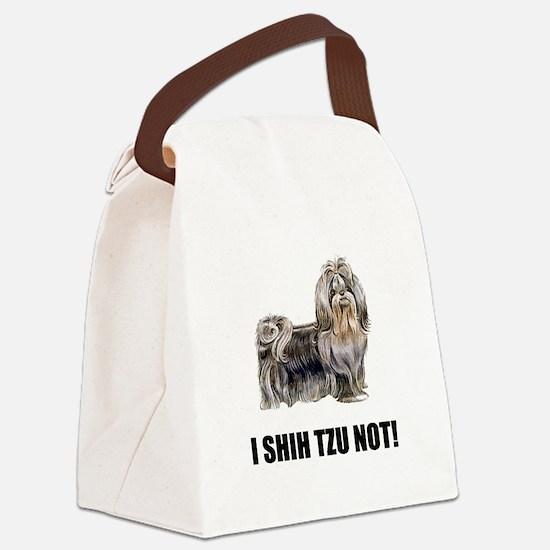 Shih Tzu Not Canvas Lunch Bag